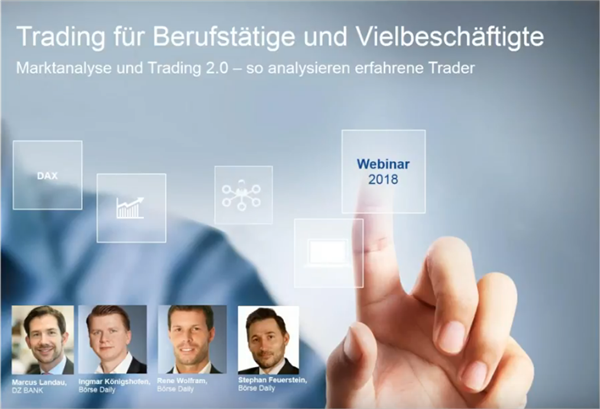 Trading-Webinar: S&P 500 Short, Silber Long